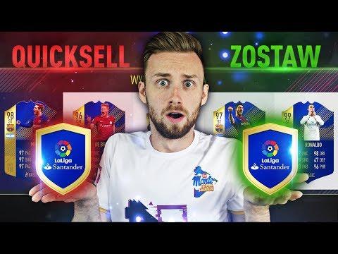WYGRAM DRAFT ALBO QUICKSELL MEGA TOTS! / FIFA 18