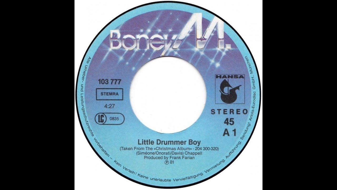 Download Boney M  little drummer boy