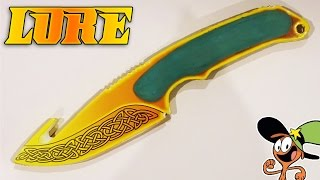 Как сделать Gut Knife Lore из дерева? CS:GO