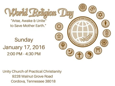 World Religion Day Memphis-2016
