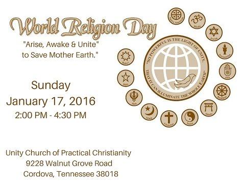 World Religion Day Memphis-2016