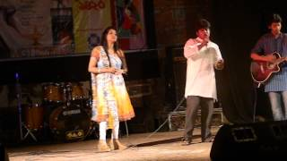 Valobashi tomar oi roddur hashi by Maisha and Deb (duet), 2nd Management Week-2013