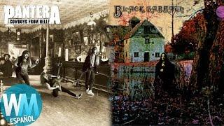 Top 10 Álbumes Importantes en la Historia del Heavy Metal en Inglés