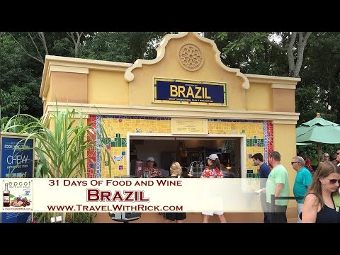 Epcot Food and Wine Festival 2015 – Day 28: Brazil