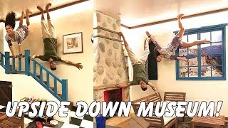 WE WALKED ON THE CEILING! Upside Down Museum Penang!