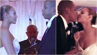 Jay-Z shares clip from wedding ceremony to Beyonce on their anniversary