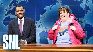 Weekend Update: Travel Expert Carrie Krum on Spring Break - SNL