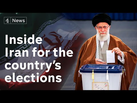 Inside Iran at election time as country closes borders over virus fears