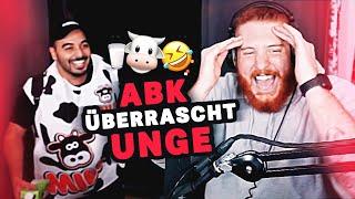 ABK überrascht UNGE im Stream 🤣🐮 ungespielt Reaktion