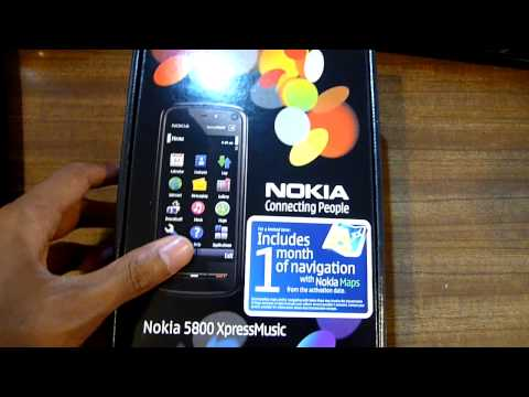 Nokia 5800 xpressmusic vs nokia 5800 navigation edition visual.
