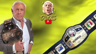 Ric Flair on Dropping NWA Title to Jack Veneno in the Caribbean