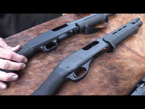 Mossberg Shockwave vs Remington Tac-14 - YouTube