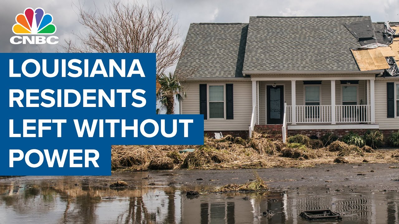 Download Louisiana residents without power or water in the wake of Hurricane Ida