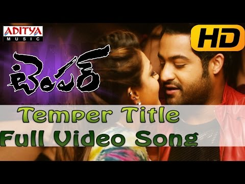 Temper Full HD  Song  Temper  Songs  JrNtr, Kajal Agarwal