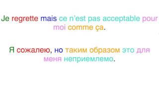 Бесплатные уроки французского языка. Урок 1.