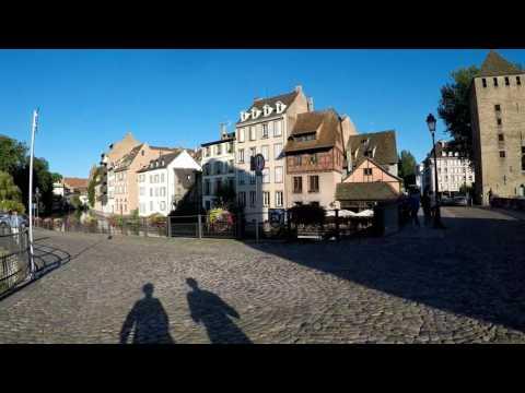 Road Trip - Belgique/Allemagne/France - Juillet 2017 - JOUR 1 - Sarrebruck/Strasbourg