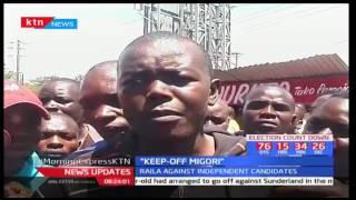 Migori residents tell NASA flag bearer Raila Odinga to keep off the county's politics