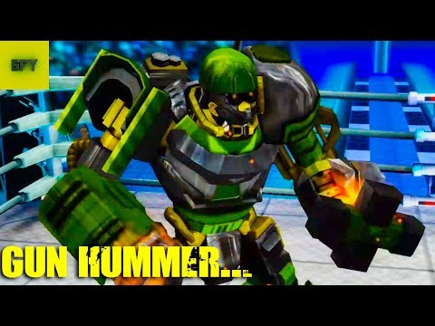 GUN HAMMER EVOLUTION | Real Steel Boxing Android Gameplay HD