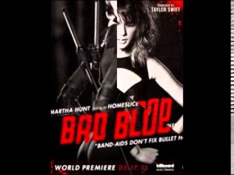 Taylor Swifit Bad Blood(characters)