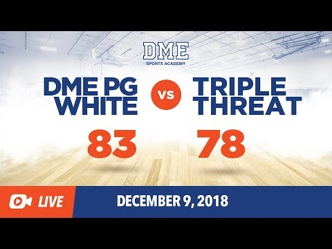 DME PG White Vs. Triple Threat Prep