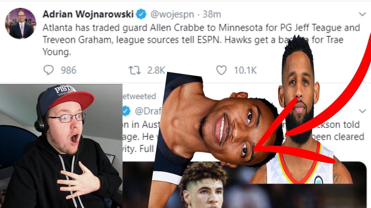 Report: Wolves trade Teague, Graham to Atlanta Hawks