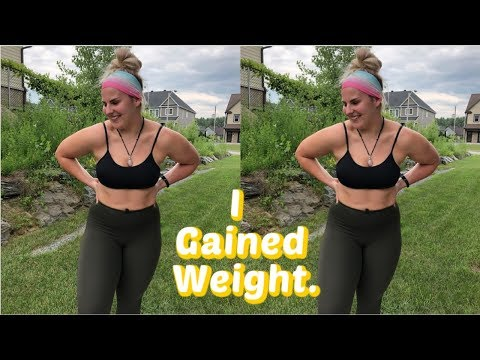 I Gained Weight || Body Positive Journey