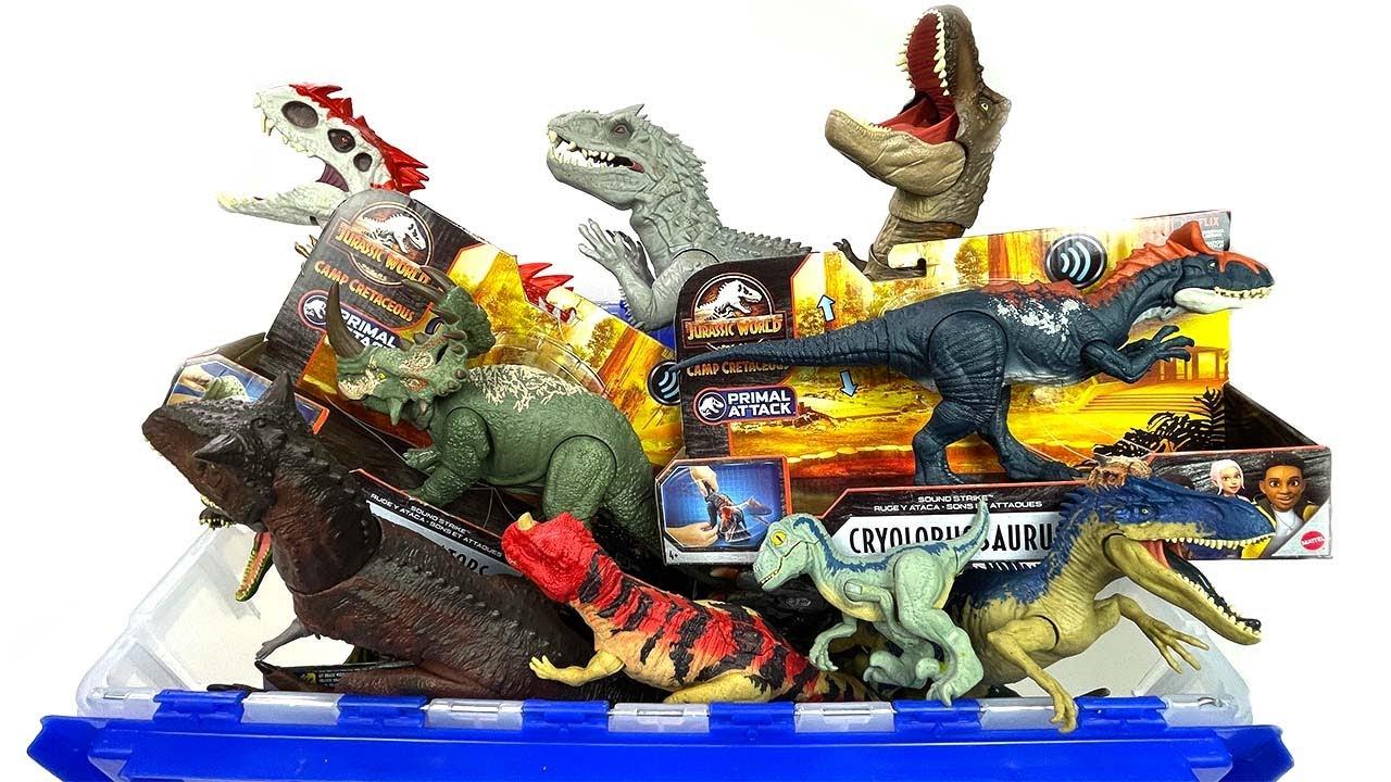 NEW 50+ Gallon Jurassic World & Jurassic Park Dinosaur Toy Haul! Indominus Rex, T-Rex, & More!