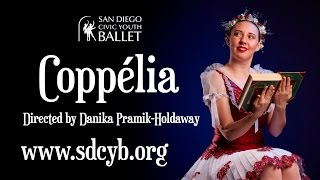 """Preview of COPPÉLIA"" (Part 6 of 7, Edward & Coppélia Documentary Series)"