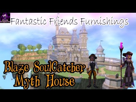 Fantastic Friends Furnishings: Blaze SoulCatcher's Myth House
