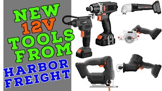 New 12 Tools at Harbor Freight? (DeepFreight Strikes Again!)