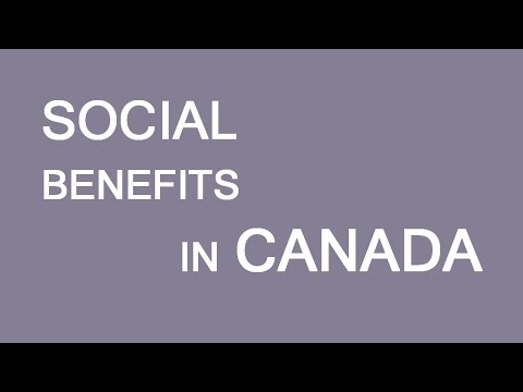 Social Benefits In Canada. LP Group