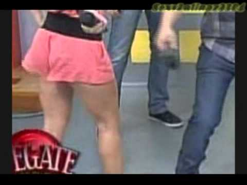 Natalia Rivera In Sexy Pink Shorts Youtube