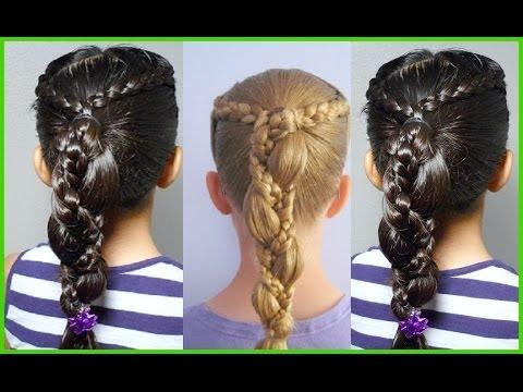 Hair Tutorial Coleta Con Trenzas Peinados Paso A Paso