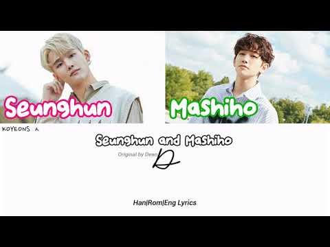 Kim Seunghun (김승훈) And Mashiho (마시호) - D (Half Moon) [가사/Color Coded Lyrics Han/Rom/Eng]