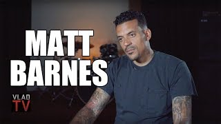 Matt Barnes: The NBA Pumps You with Opioids But Doesn't Allow Marijuana (Part 21)
