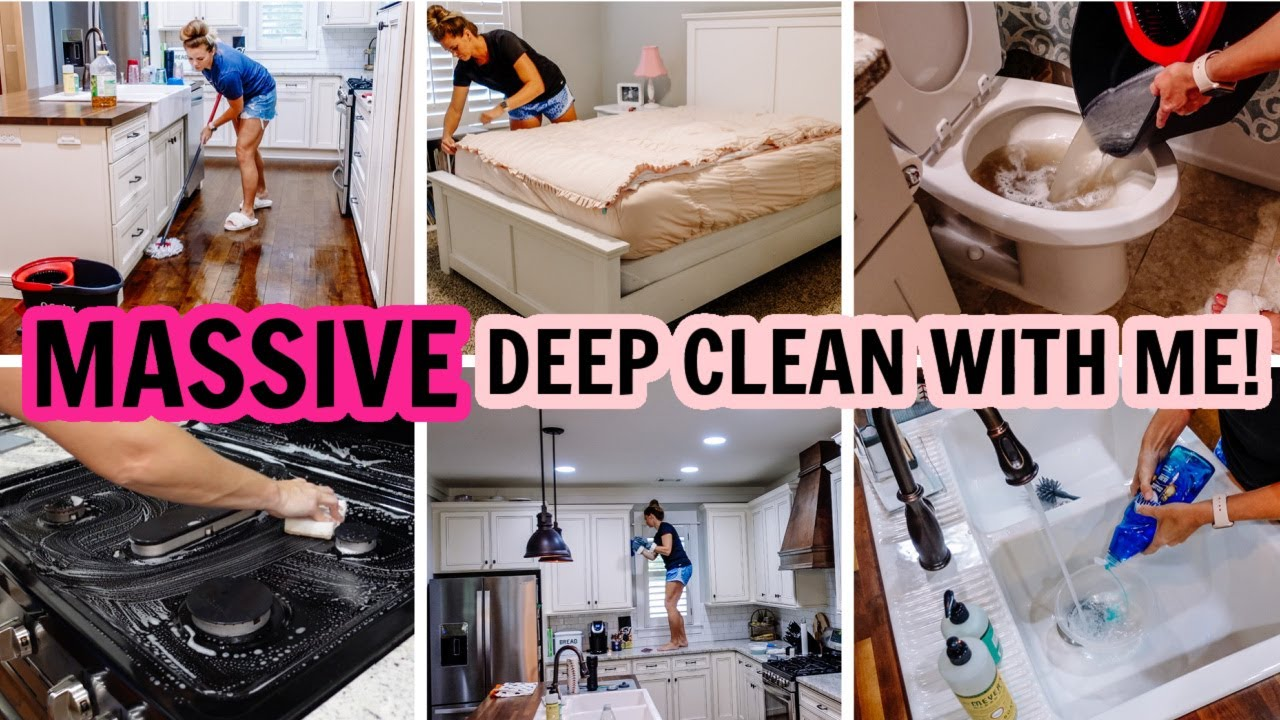 2021 MASSIVE DEEP CLEAN WITH ME! | EXTREME CLEANING MOTIVATION |