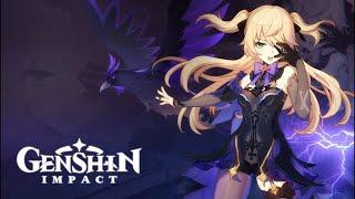 Genshin impact продолжаем готовить к бездне персонажей.