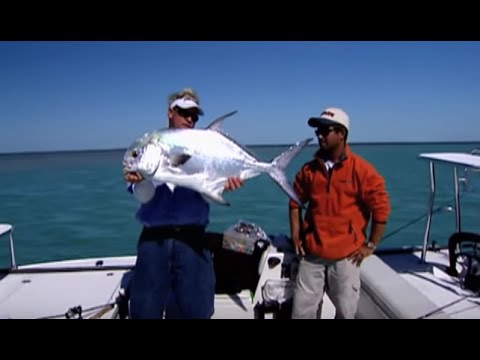 Permit Fishing the Marquesas Islands in Key West Florida