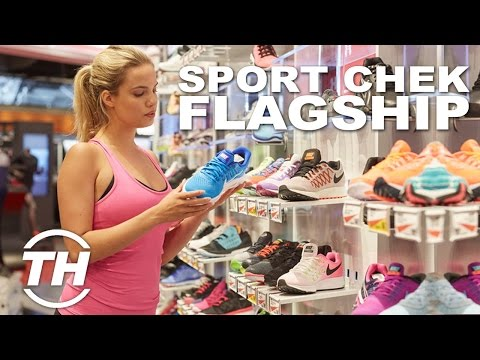Futuristic Sporting Goods Stores | Sport Chek Flagship