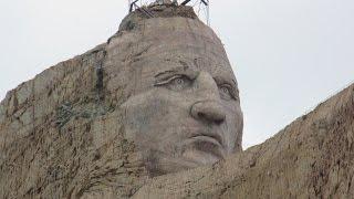 USA Crazy Horse Memorial Black Hills, South Dakota Indianermuseum