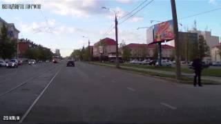 Собака на переходе Ижевск (подставная?) :D