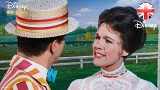 DISNEY SING-ALONGS | Supercalifragilisticexpialidocious - Mary Poppins | Official Disney UK