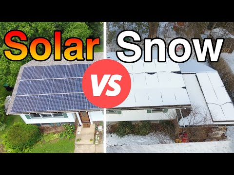 What Happens to Solar Panels When it Snows?