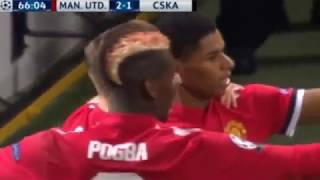 Manchester United vs CSKA Moscow 2-1 UEFA Champions League 2017  All Goals  Highlights