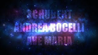 Schubert Andrea Bocelli Ave Maria Subtitled