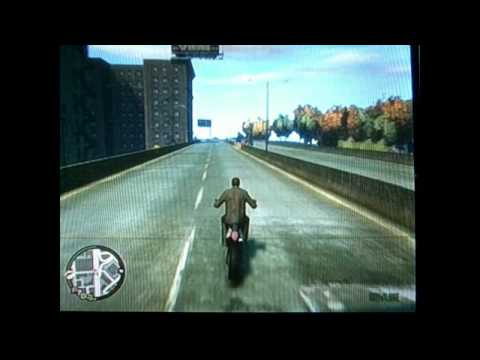 GTA 4 Bike Bails/Crashes