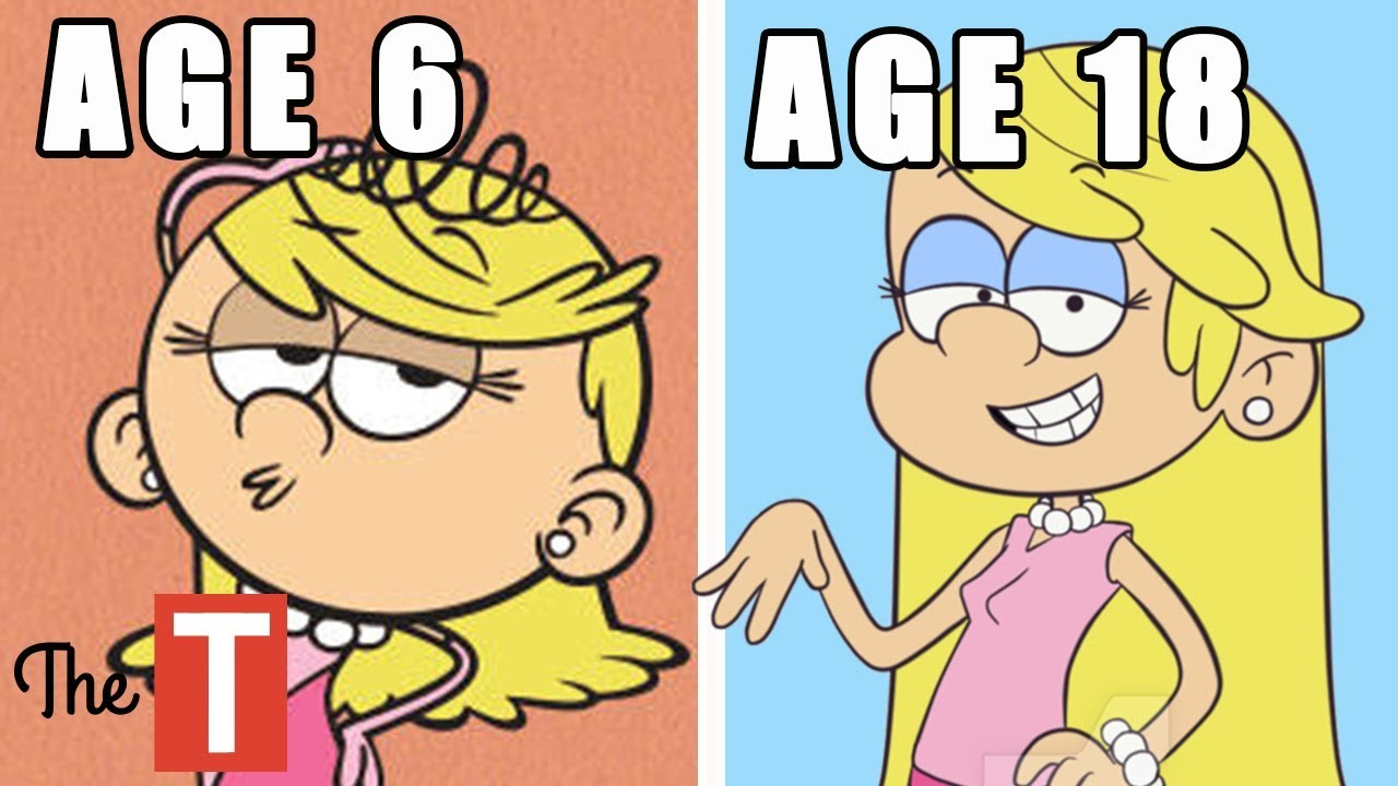 The Loud House Reimagined As Kids Teenagers Adults And Parents