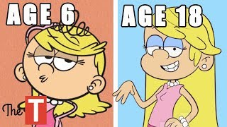 The Loud House Reimagined As Kids, Teenagers, Adults And Parents