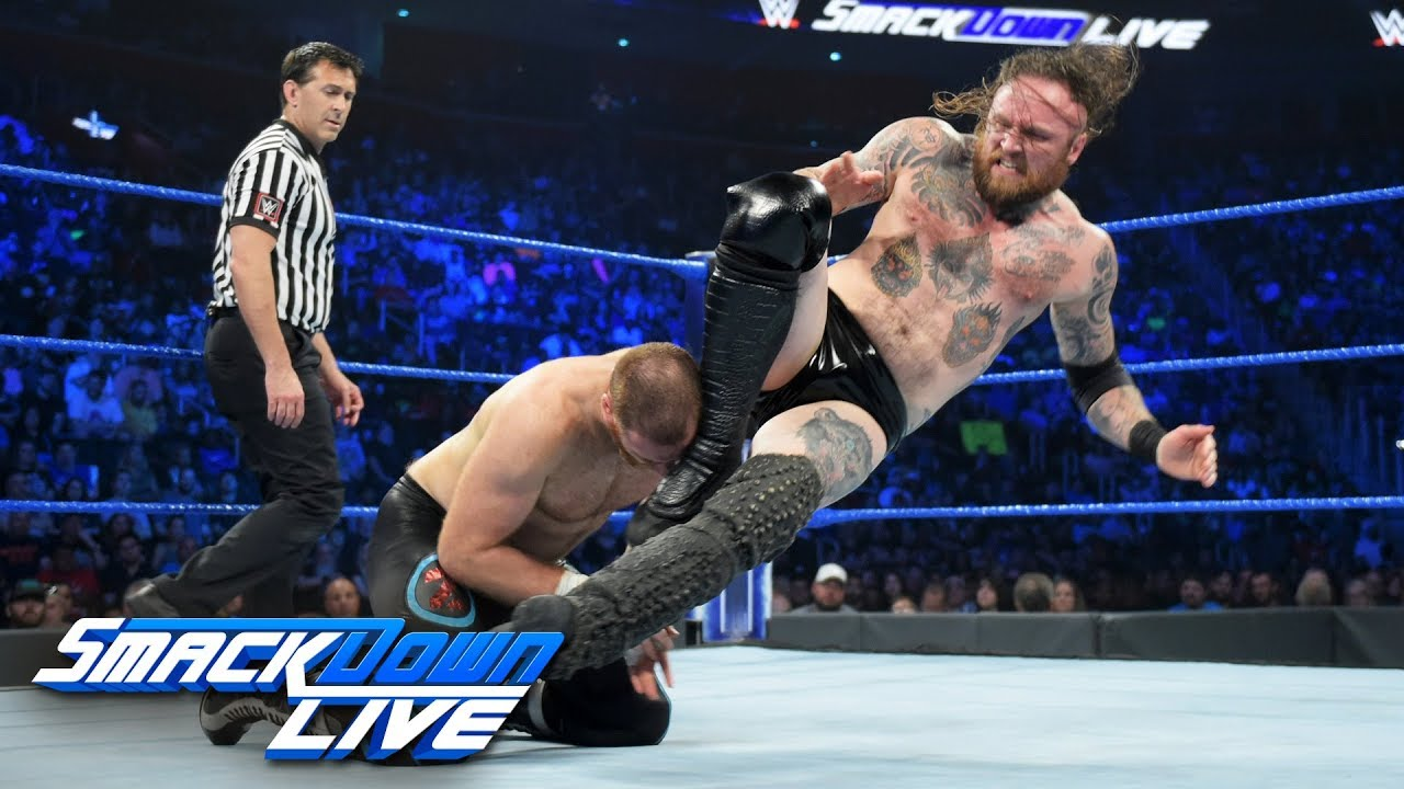 Aleister Black vs. Sami Zayn: SmackDown LIVE, Aug. 6, 2019