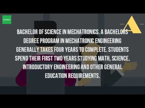 How Long Does It Take To Get A Degree In Mechatronics?